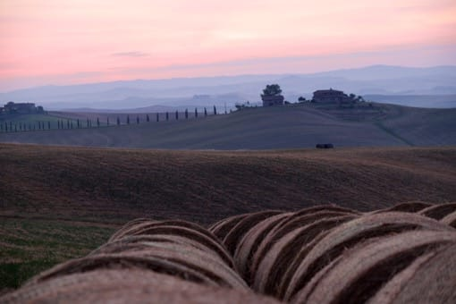 siena-toscana-villa-corsano-paesaggio-tramonto